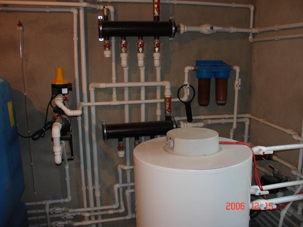 Монтаж чугунных радиаторов отопления
