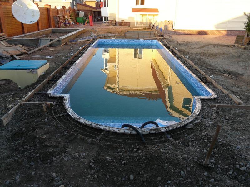 Материал для бассейна своими руками