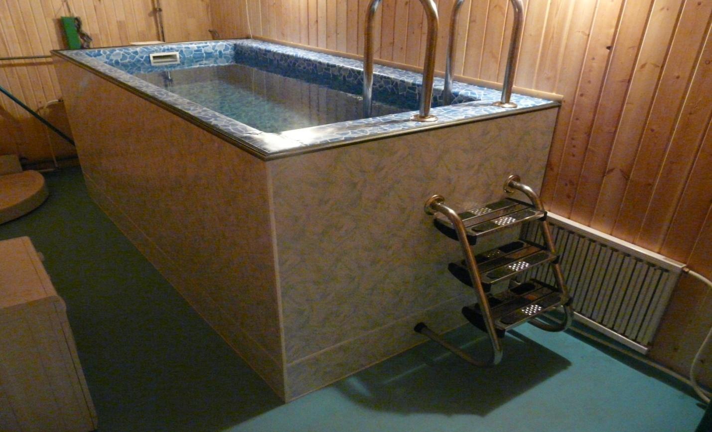 Устройство бассейны для бани своими руками