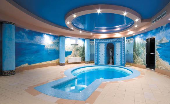 Дизайн бассейна в саунах фото